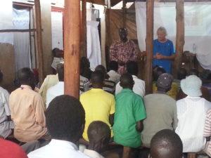 Overweldigende belangstelling bij de trainingen in Diima