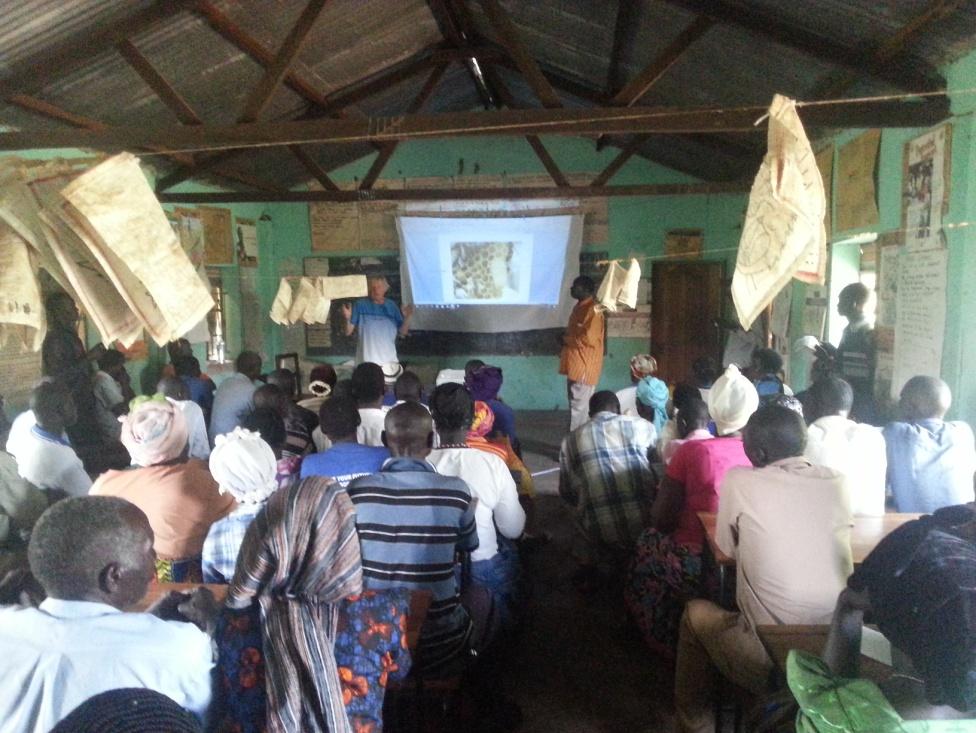 Grote belangstelling bij de tweedaagse basiscursus in Nyamahassa