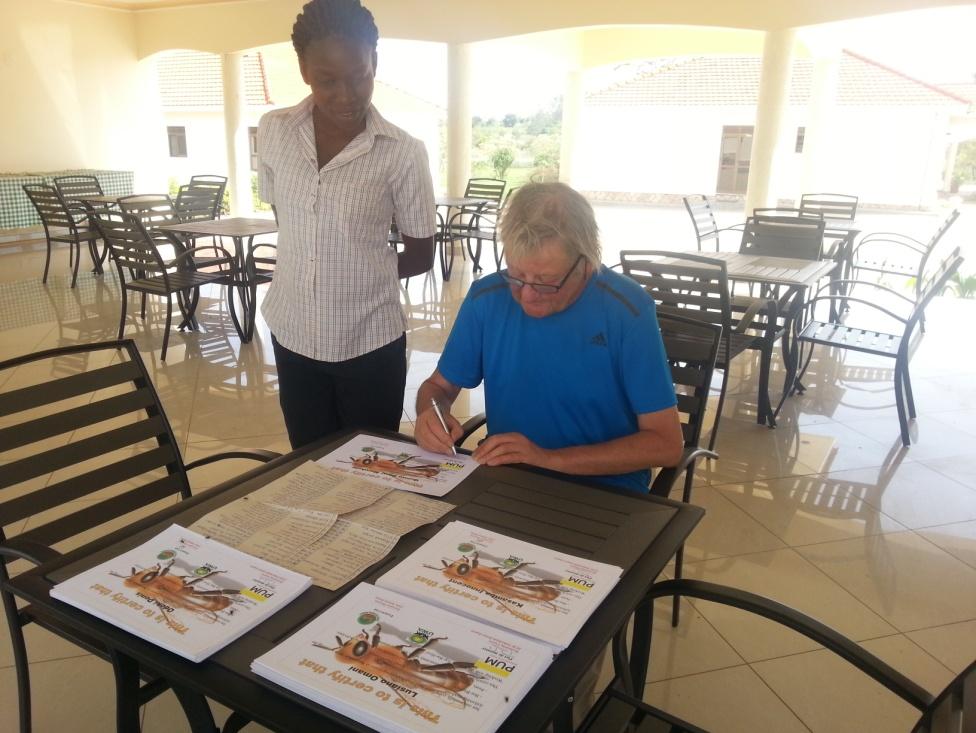 Honderden cursisten hebben inmiddels een certificaat op naam ontvangen dat recht geeft op deelname aan de vervolgcursus 'Werken met de KTB'.